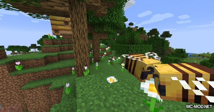 The Bees Knees mod for Minecraft (1)