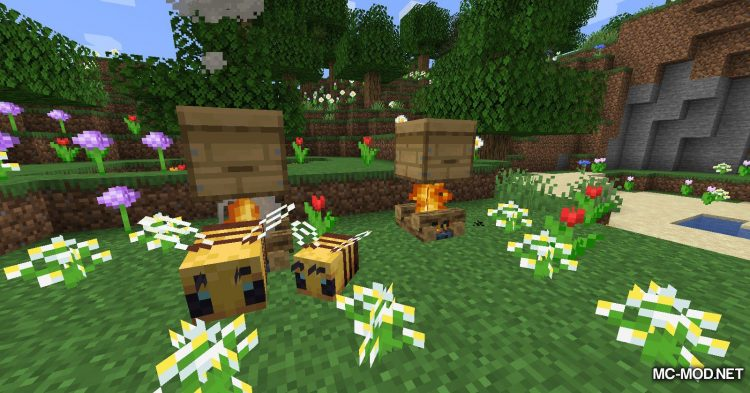The Bees Knees mod for Minecraft (2)