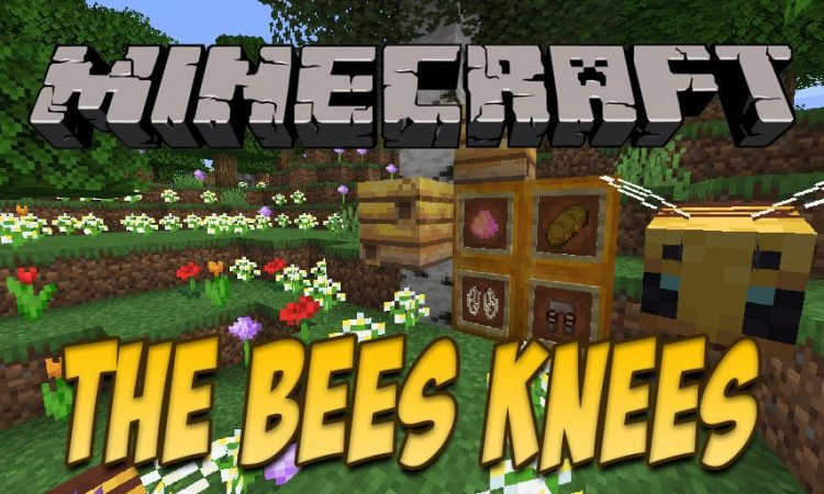 The Bees Knees mod for Minecraft logo