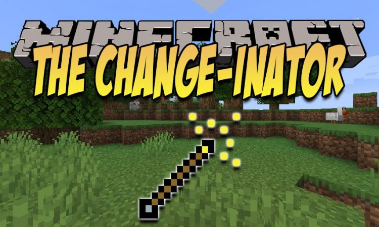 The Change-inator mod for Minecraft logo