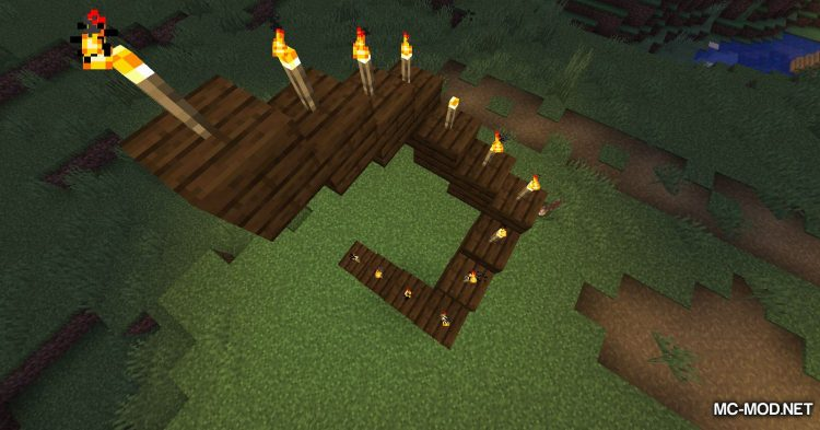 Torch Slabs Mod mod for Minecraft (10)