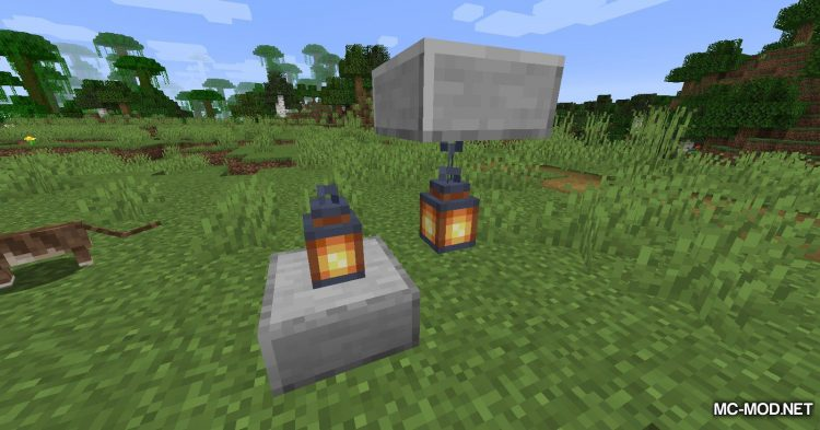 Torch Slabs Mod mod for Minecraft (8)