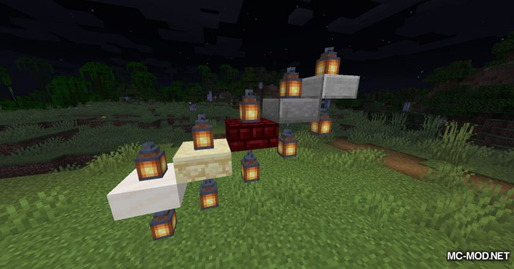 Torch Slabs Mod mod for Minecraft (9)