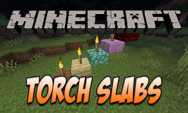 Torch Slabs Mod mod for Minecraft logo