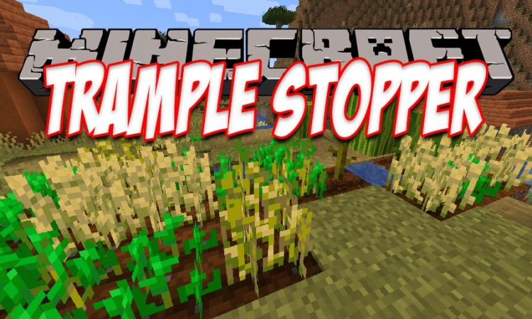 Trample Stopper mod for Minecraft logo