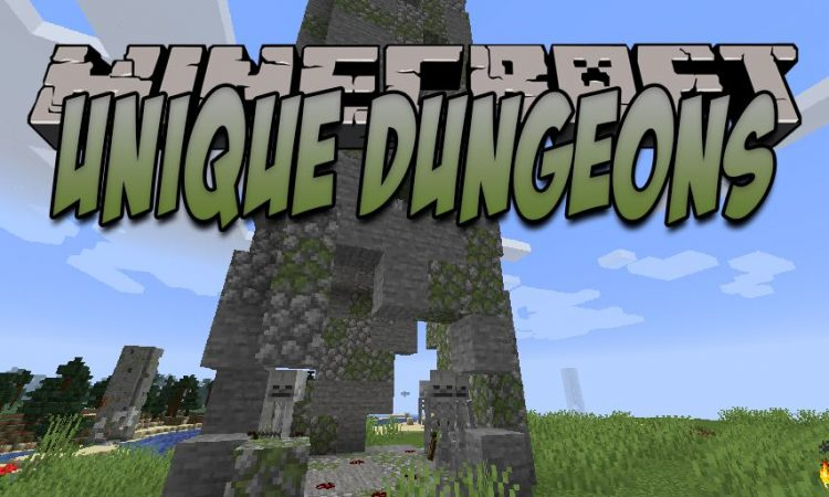 Unique Dungeons mod for Minecraft logo
