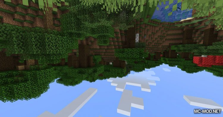 Upside Down mod for Minecraft (2)