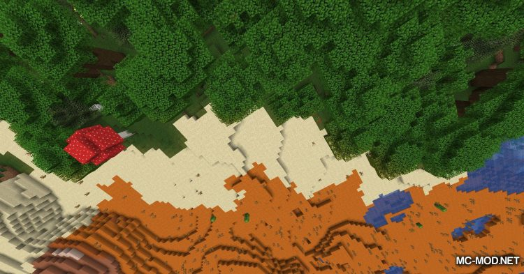 Upside Down mod for Minecraft (3)