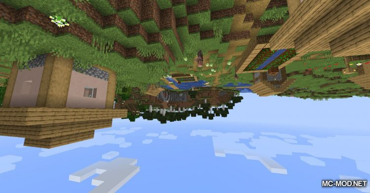 Upside Down mod for Minecraft (6)