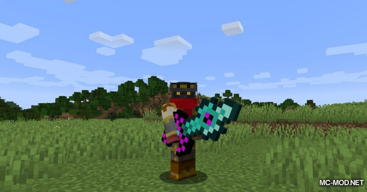 Useless Sword mod for Minecraft (3)