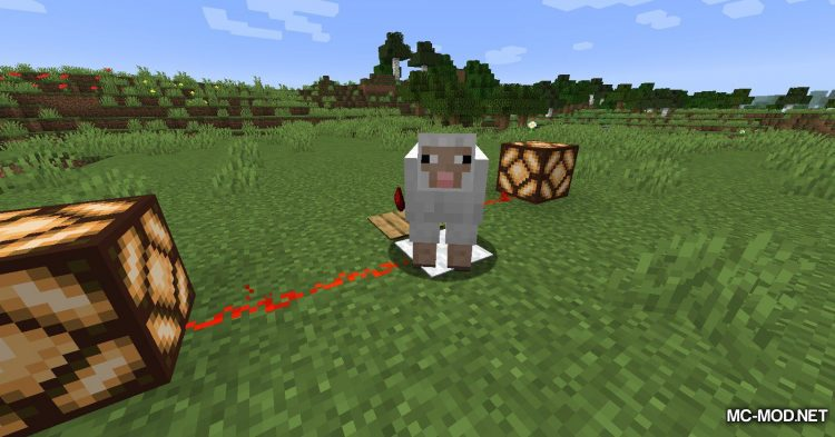 Wool Pressure Plates mod for Minecraft (9)