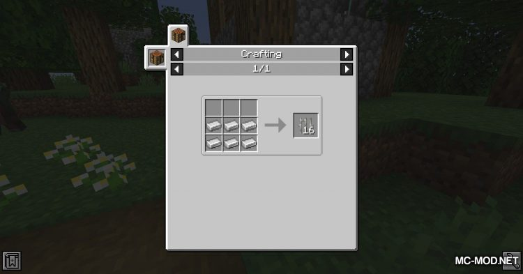 Additional Bars mod for Minecraft (1)