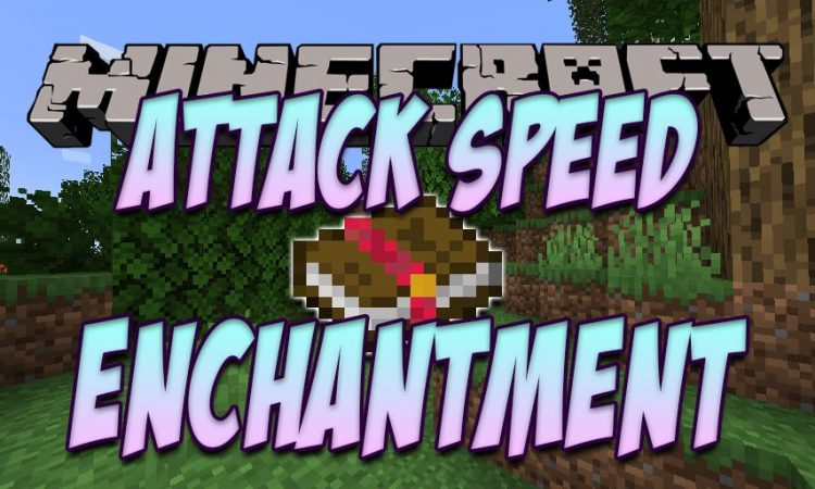 Attack Speed Enchantment mod for Minecraft logo