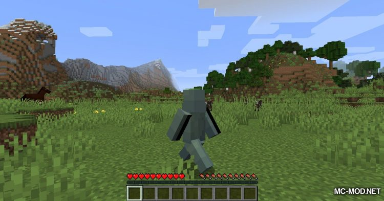 Auto-Run mod for Minecraft (4)