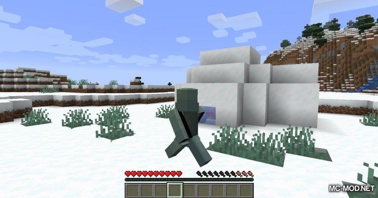 Auto-Run mod for Minecraft (7)