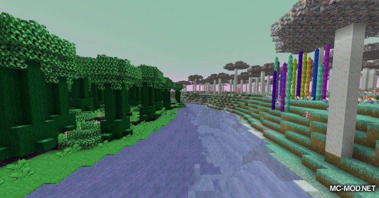 Gaia Dimension mod for Minecraft (21)