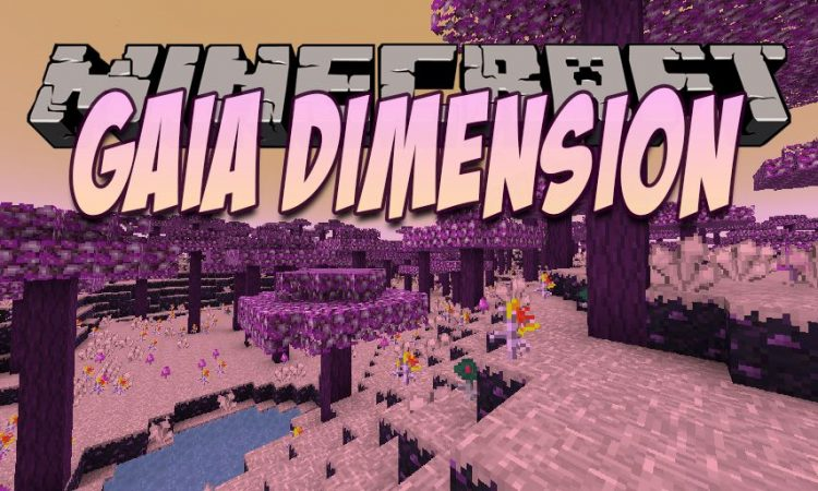 Gaia Dimension mod for Minecraft logo