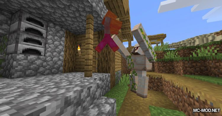 GolemZ mod for Minecraft (3)