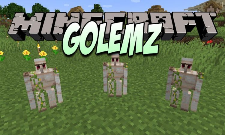 GolemZ mod for Minecraft logo
