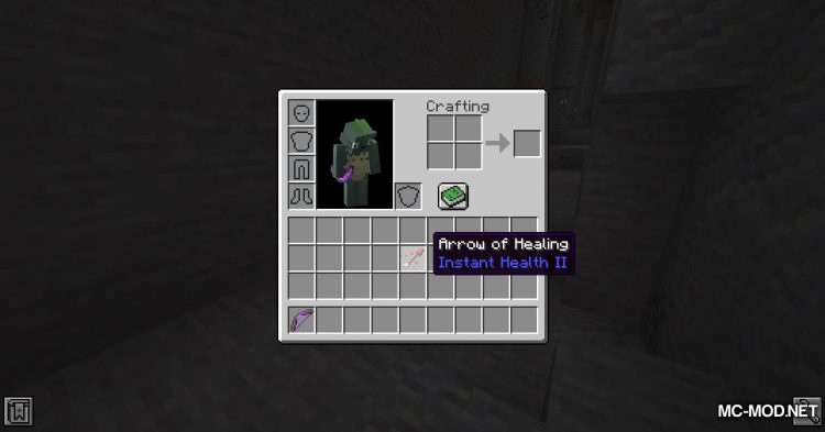 Infinity Works With All Arrows mod for Minecraft (4)