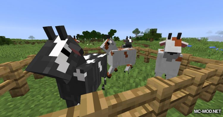 Just A Regular Goat mod for Minecraft (2)
