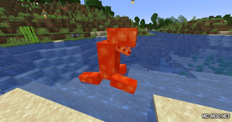 Lava Monsters mod for Minecraft (10)