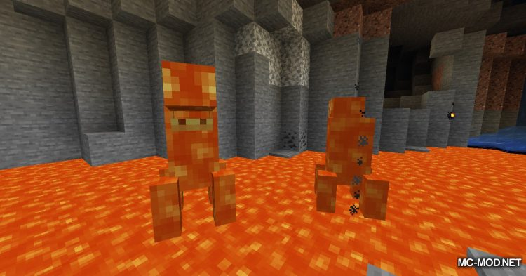 Lava Monsters mod for Minecraft (12)