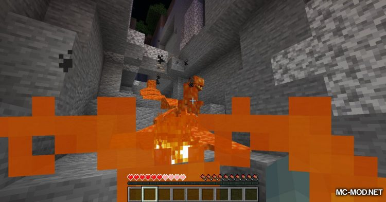 Lava Monsters mod for Minecraft (3)