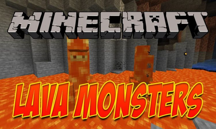Lava Monsters mod for Minecraft logo