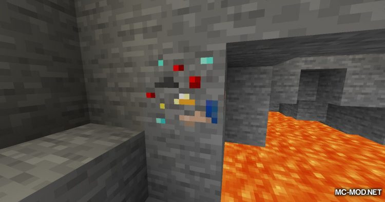 Lucky Ore mod for Minecraft (4)