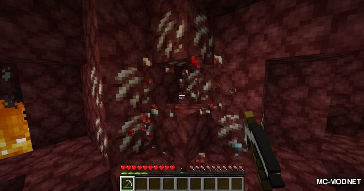 Lucky Ore mod for Minecraft (9)