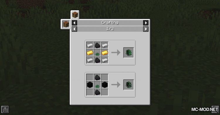 Metal Bushes mod for Minecraft (10)
