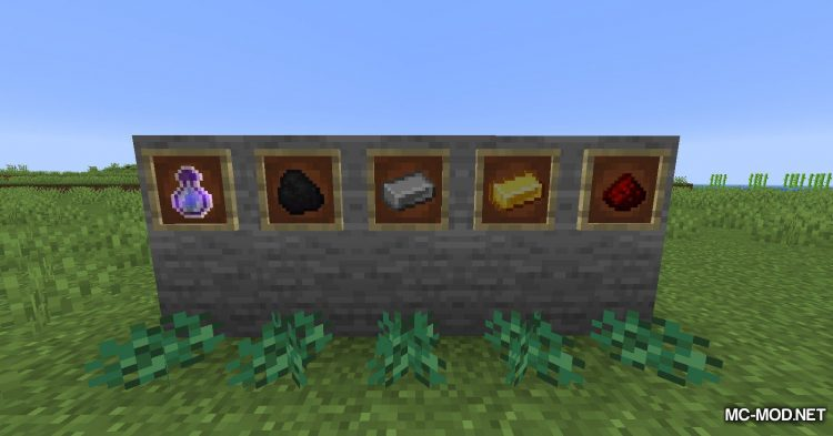 Metal Bushes mod for Minecraft (8)