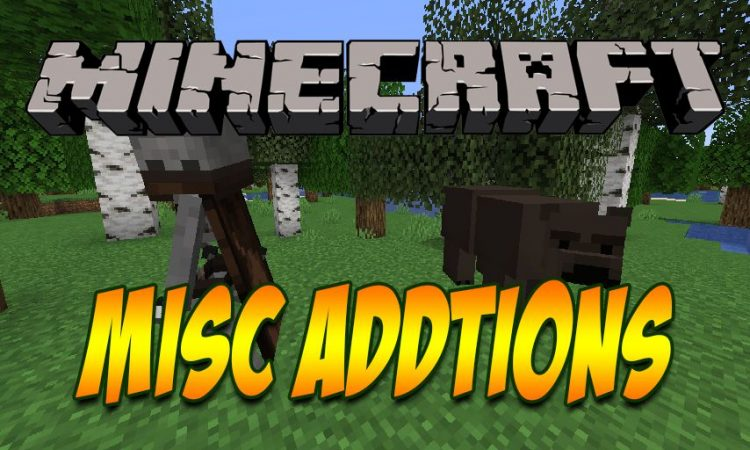 Misc Additions mod for Minecraft logo
