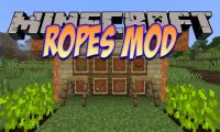 Ropes Mod mod for Minecraft logo