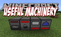 Useful Machinery mod for Minecraft logo