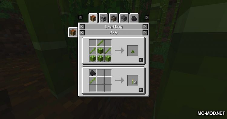 Bamboo Tweaks mod for Minecraft (4)