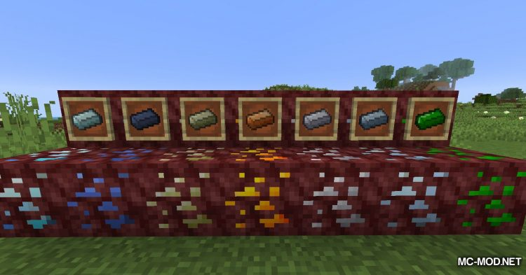 Basic Nether Ores mod for Minecraft (13)