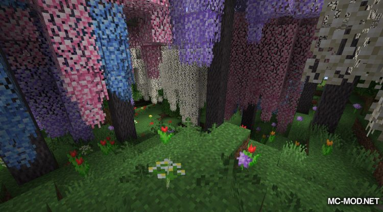 Bloomful mod for Minecraft (13)