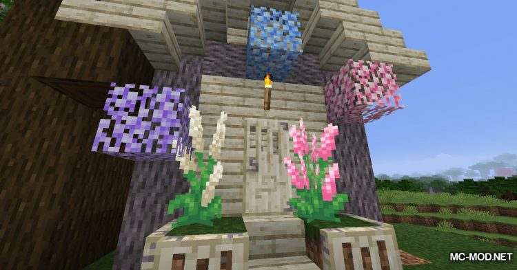 Bloomful mod for Minecraft (9)