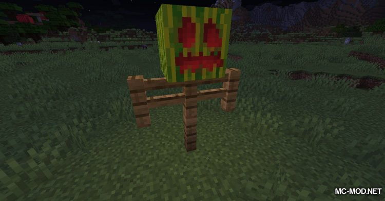Carved Melon mod for Minecraft (10)