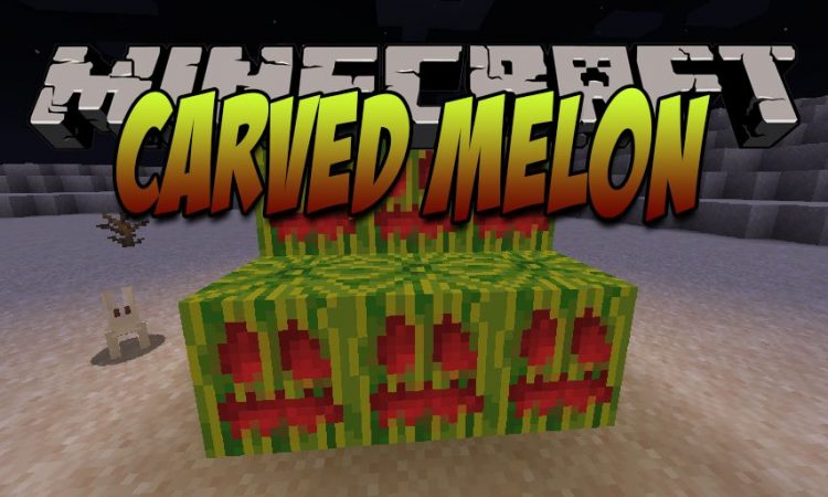 Carved Melon mod for Minecraft logo