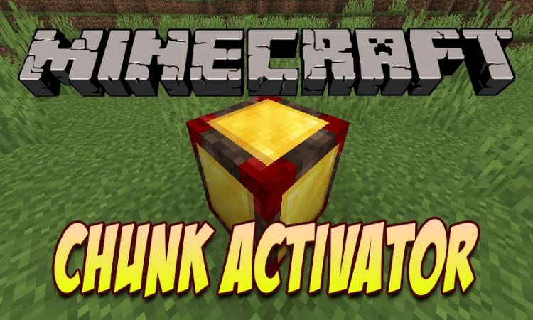 Chunk Activator mod for Minecraft logo