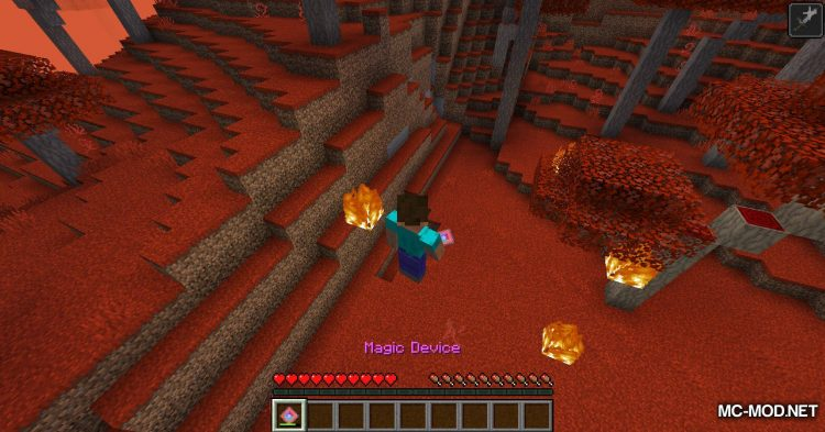 Crimson mod for Minecraft (10)