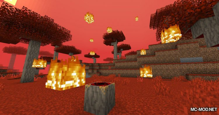 Crimson mod for Minecraft (11)