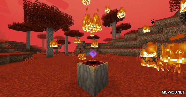 Crimson mod for Minecraft (12)