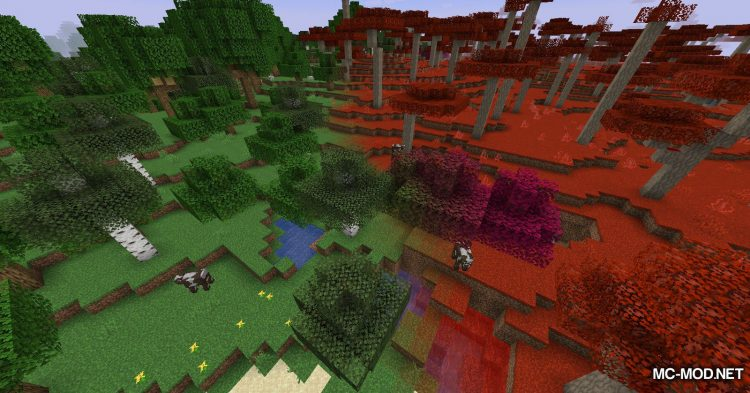 Crimson mod for Minecraft (3)
