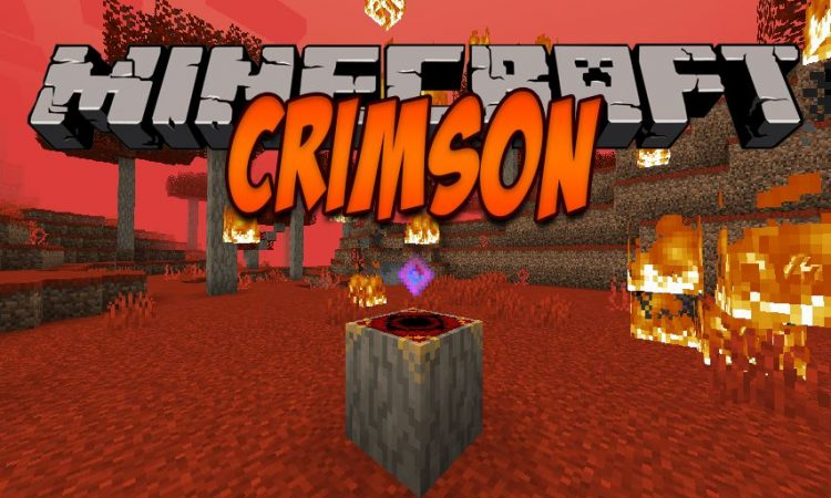 Crimson mod for Minecraft logo
