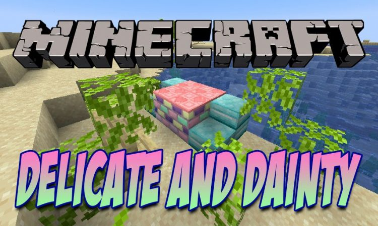 Delicate and Dainty mod for Minecraft logo