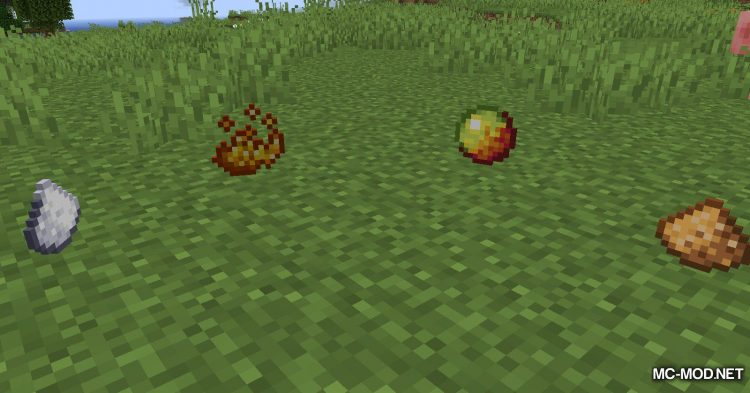 Edibles mod for Minecraft (3)